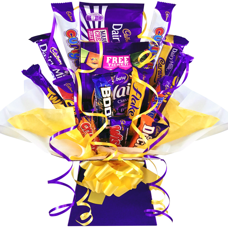 Bestseller - Cadbury Favourites Chocolate Bouquet